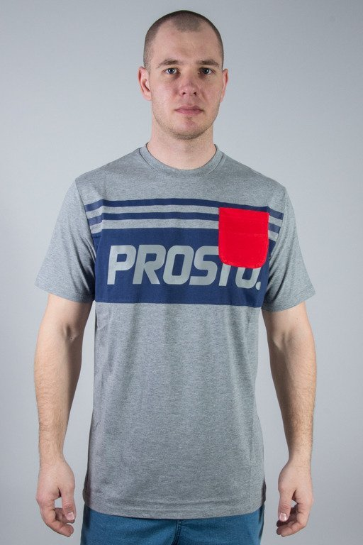 PROSTO T-SHIRT POUCH GREY