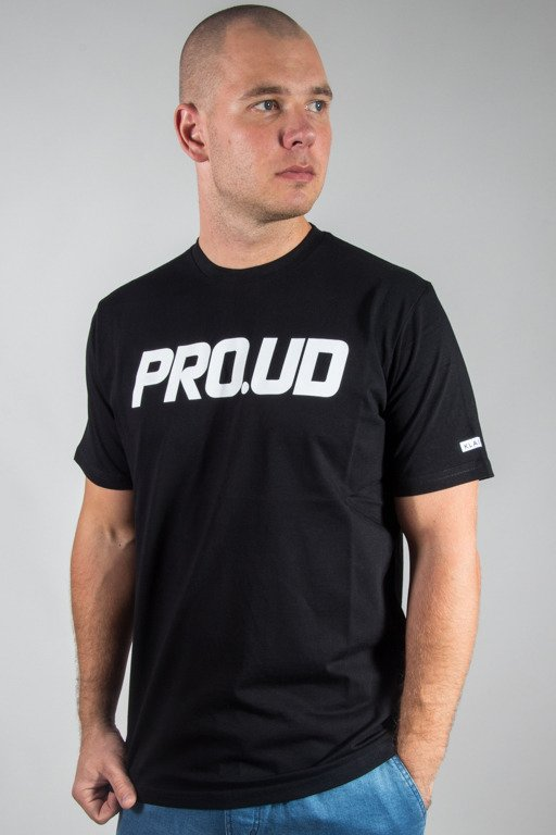 PROSTO T-SHIRT PROUD BLACK