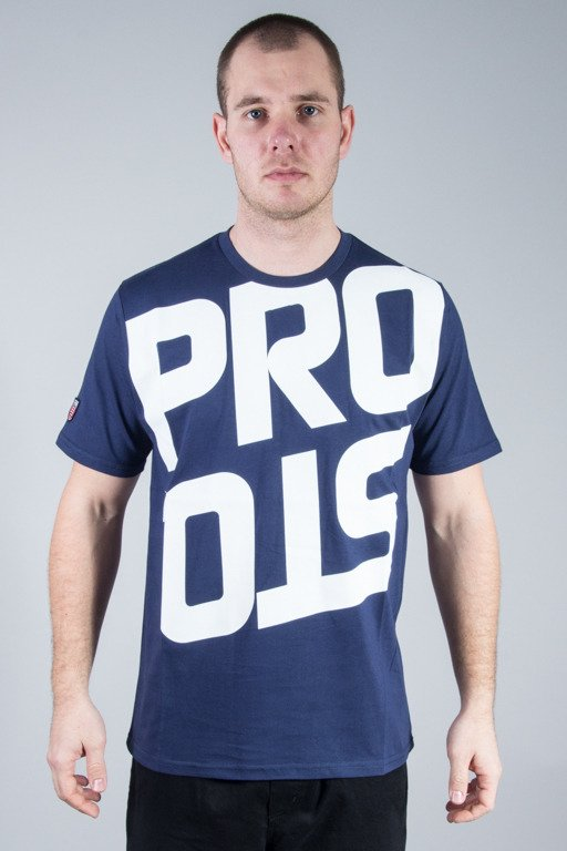 PROSTO T-SHIRT REVERSED NAVY