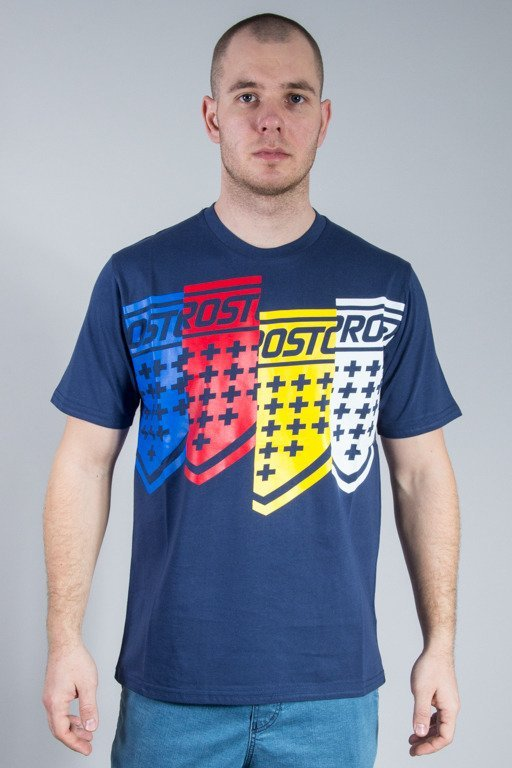 PROSTO T-SHIRT SCREEEN NAVY