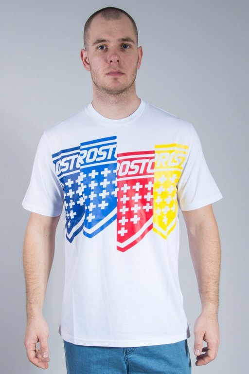 PROSTO T-SHIRT SCREEEN WHITE