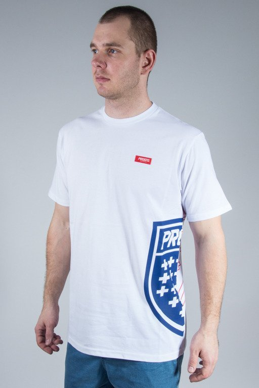 PROSTO T-SHIRT SEPARATION WHITE