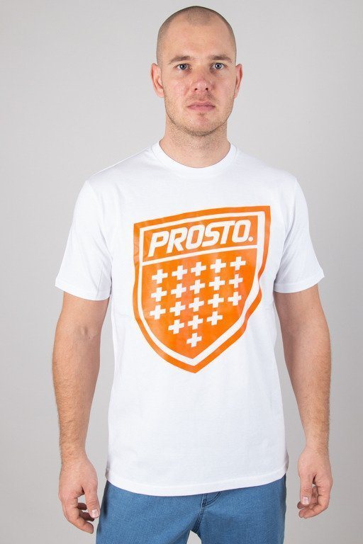 PROSTO T-SHIRT SHIELD XIX WHITE