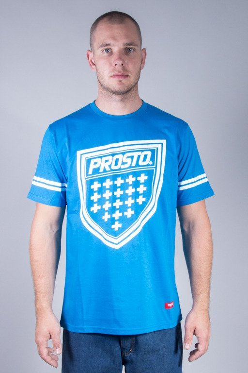 PROSTO T-SHIRT SHIELDZ BLUE