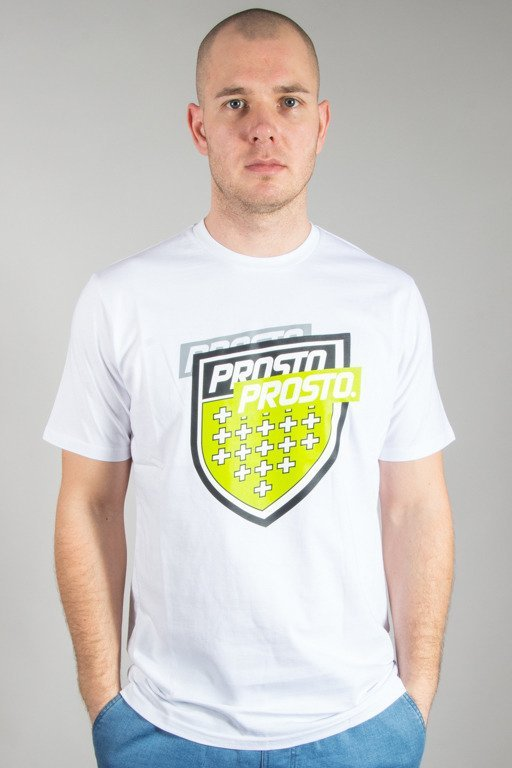 PROSTO T-SHIRT SPLITTING WHITE