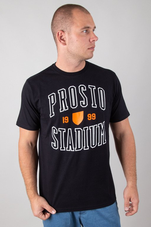 PROSTO T-SHIRT STADIUM BLACK