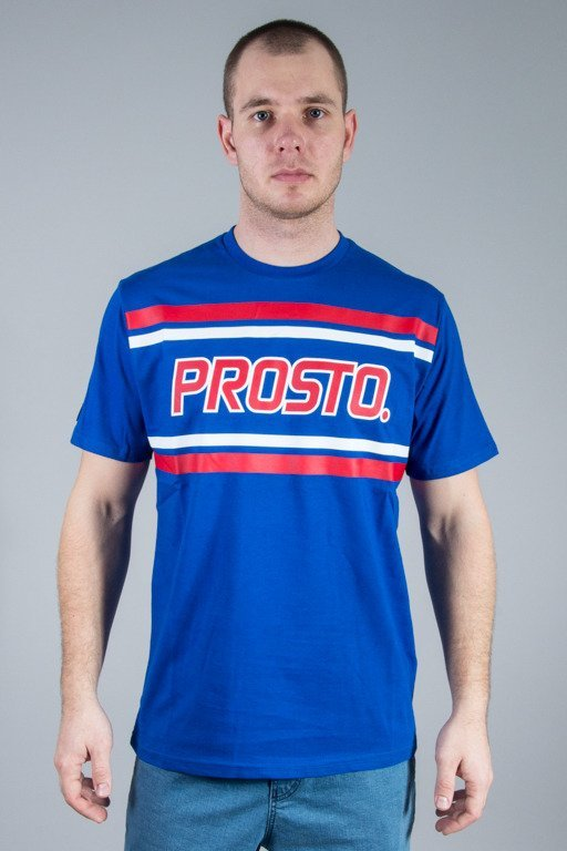 PROSTO T-SHIRT STRONG BLUE