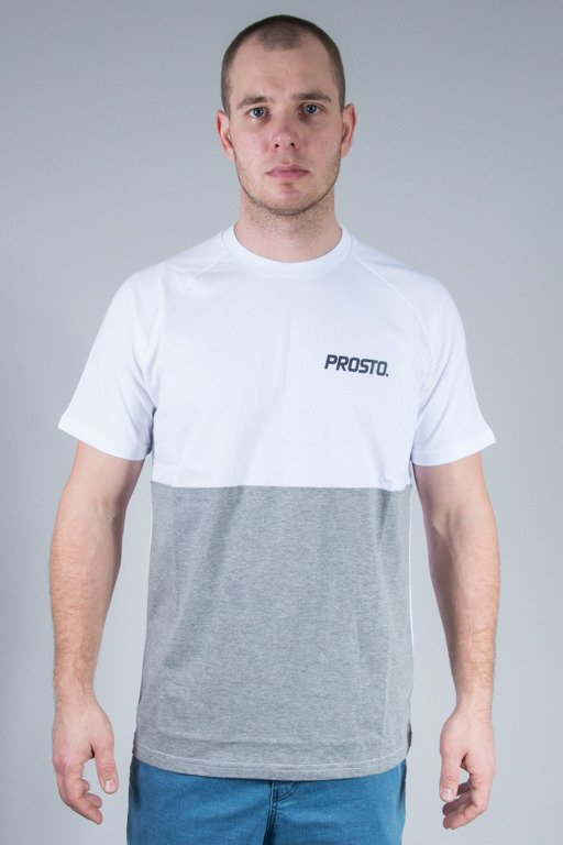 PROSTO T-SHIRT SWITCH WHITE