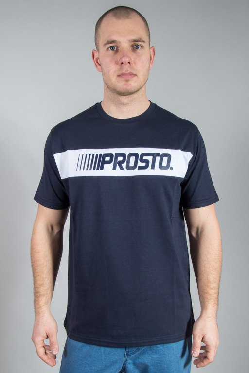 PROSTO T-SHIRT TRAIL NAVY