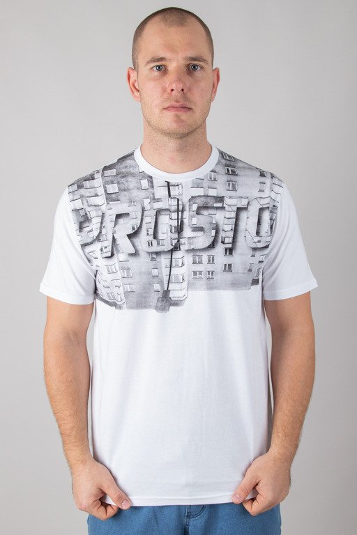 PROSTO T-SHIRT WILL SNOW