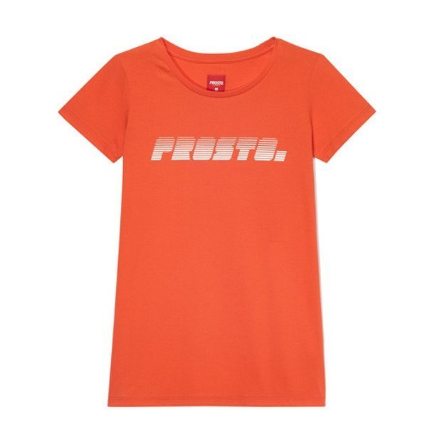 PROSTO T-SHIRT WOMAN BUNDZ RED