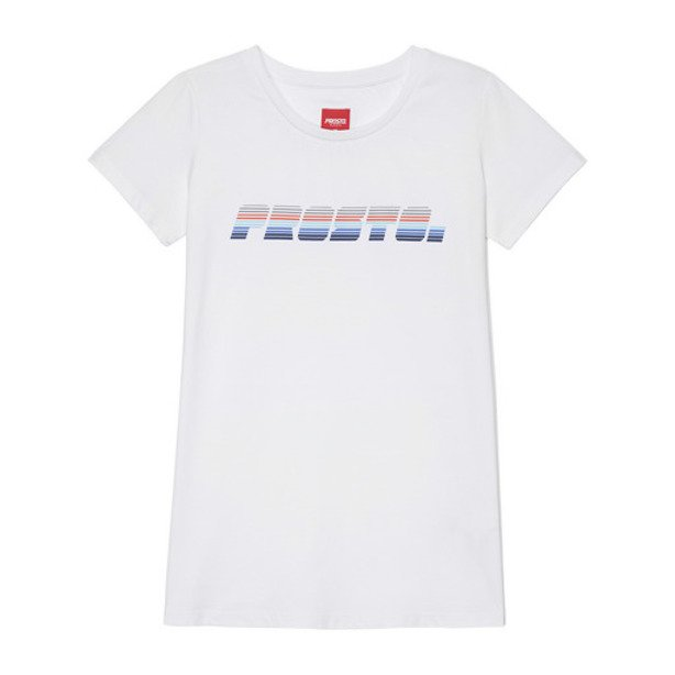 PROSTO T-SHIRT WOMAN BUNDZ WHITE