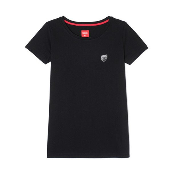 PROSTO T-SHIRT WOMAN DIVE BLACK