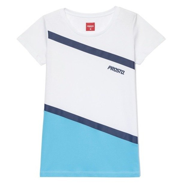 PROSTO T-SHIRT WOMAN DRIPSTONE WHITE