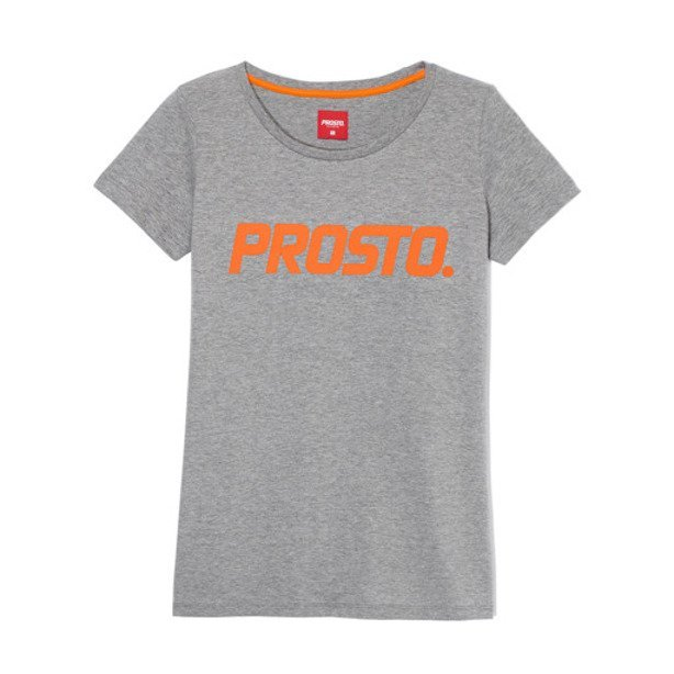 PROSTO T-SHIRT WOMAN DUSTER GREY