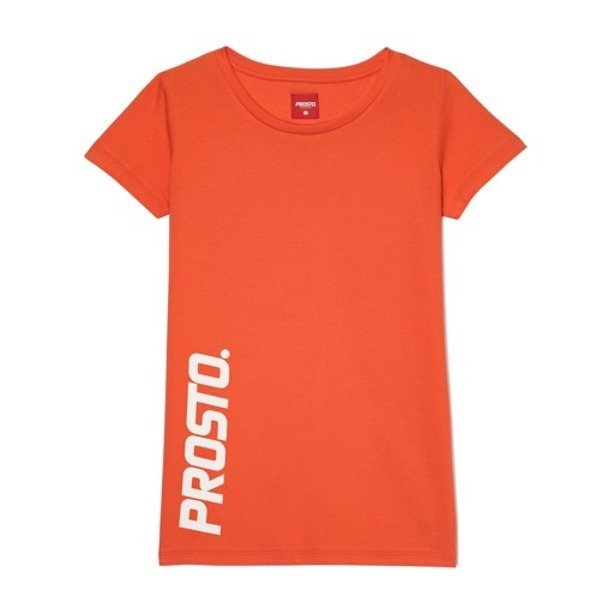 PROSTO T-SHIRT WOMAN SCALE RED