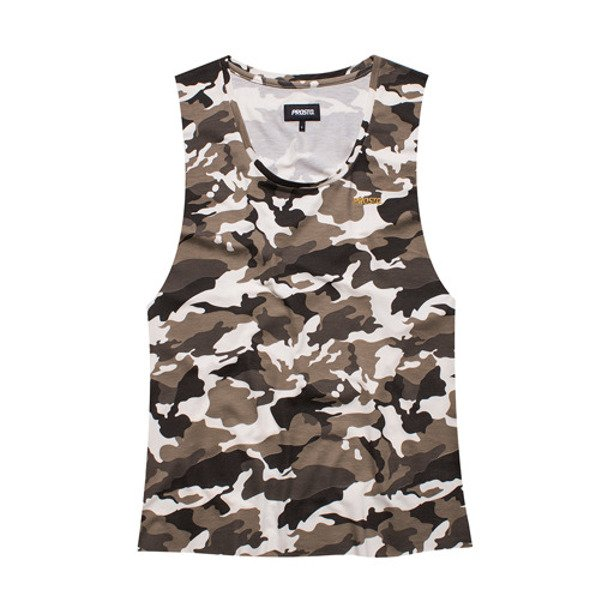 PROSTO TANK TOP DAMSKI WARRIOR CAMO