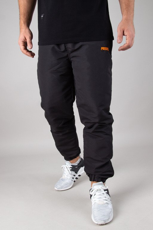 PROSTO TRACKPANTS EAST BLACK
