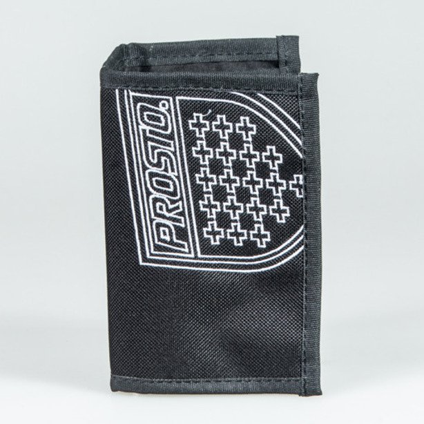 PROSTO WALLET OUTLINE BLACK