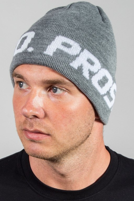 PROSTO WINTER CAP WRAPS LOGO GREY