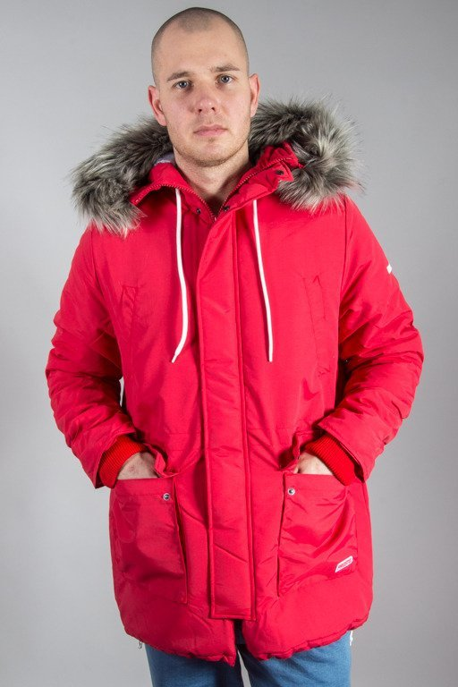 PROSTO WINTER JACKET ANTARCTICA RED