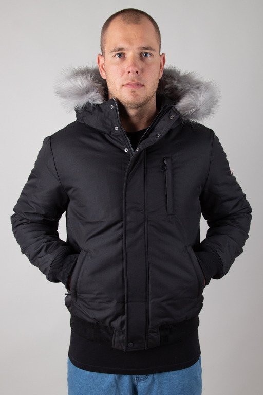 PROSTO WINTER JACKET BOMBER ESKIMO BLACK