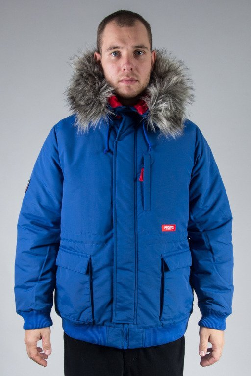 PROSTO WINTER JACKET FREEZE BLUE