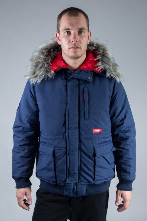 PROSTO WINTER JACKET FREEZE NAVY