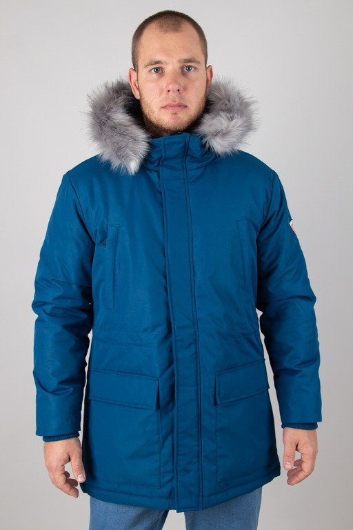 PROSTO WINTER JACKET LONG NAVY