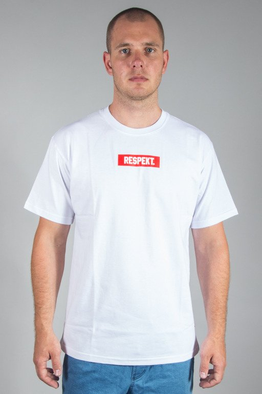 RESPEKT T-SHIRT FRAME SMALL WHITE