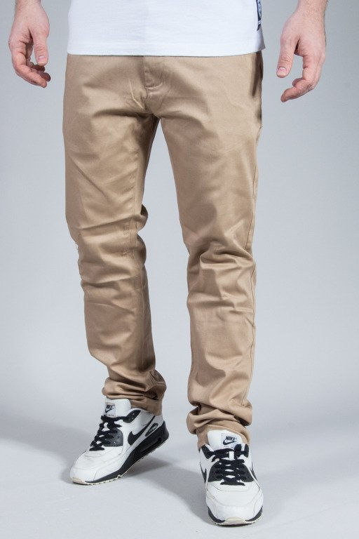 ROCAWEAR PANTS CHINO SLIM FIT BEIGE