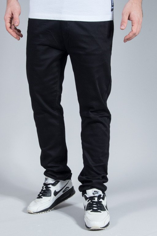 ROCAWEAR PANTS CHINO SLIM FIT BLACK
