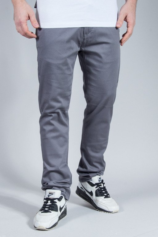 ROCAWEAR PANTS CHINO SLIM FIT GREY