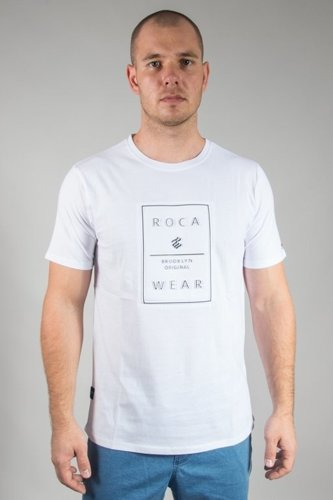 ROCAWEAR T-SHIRT BROOKLYN WHITE