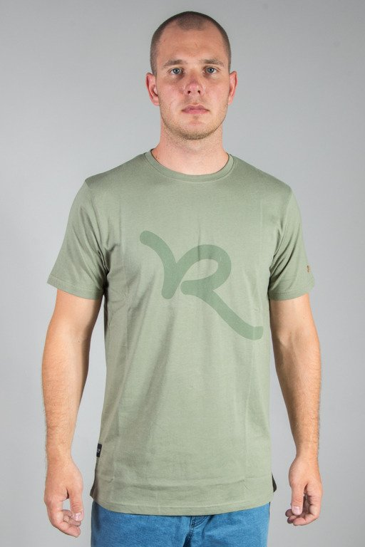 ROCAWEAR T-SHIRT R OLIVE