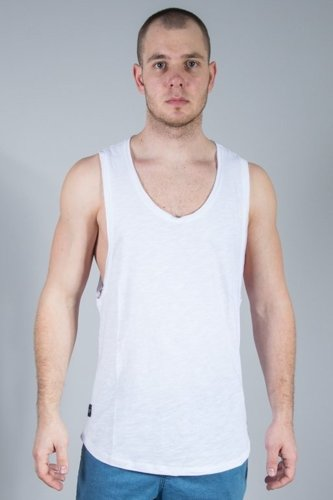 ROCAWEAR TANK TOP BASIC WHITE