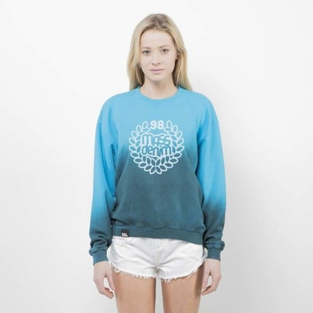 SAINT MASS CREWNECK BASE FADE BLUE