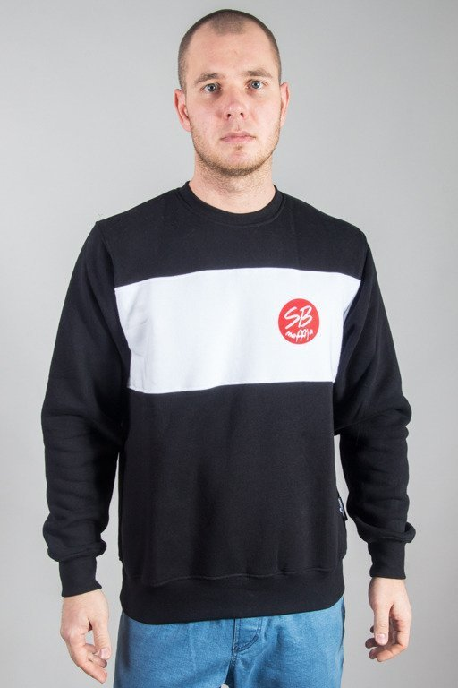SB MAFFIJA CREWNECK CIRCLE BLACK