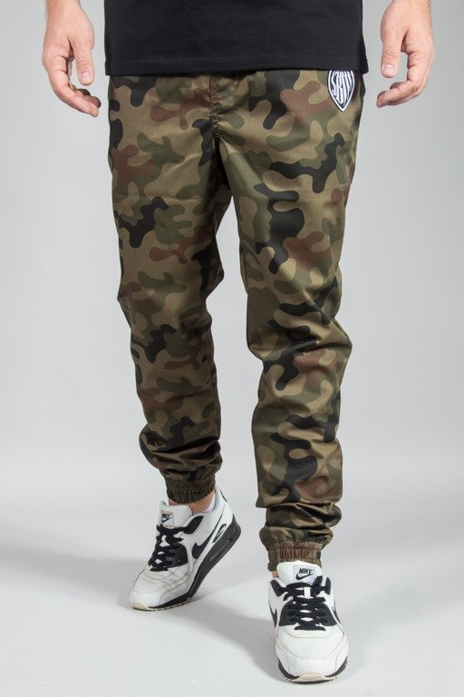 SB MAFFIJA PANTS CHINO JOGGER GLITHER CAMO