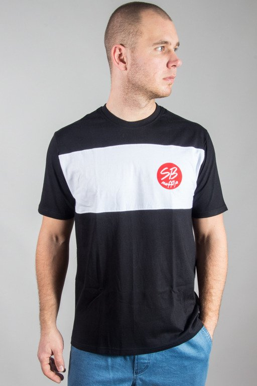 SB MAFFIJA T-SHIRT CIRCLE BLACK