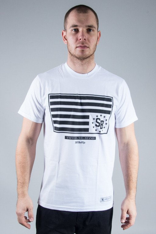 SB MAFFIJA T-SHIRT FLAG WHITE