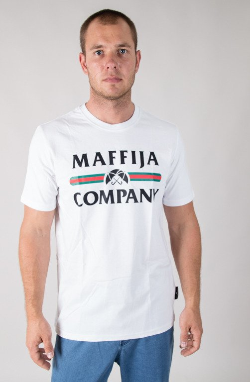 SB MAFFIJA T-SHIRT REGISTER WHITE
