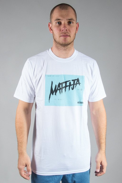 SB MAFFIJA T-SHIRT SCREAM WHITE-BLUE