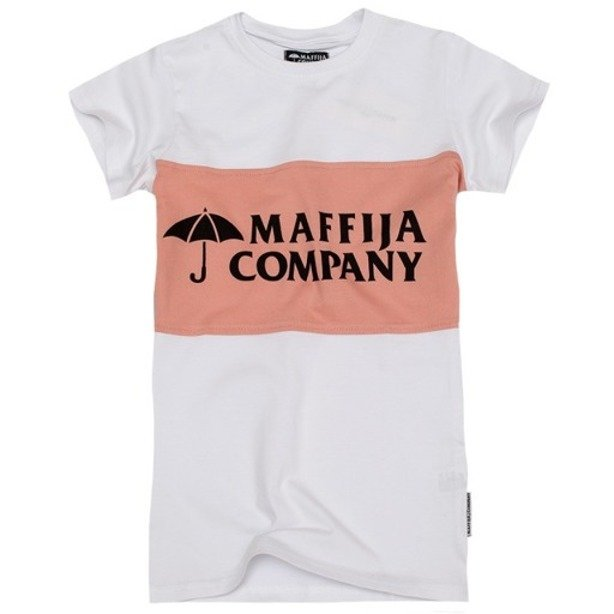 SB MAFFIJA T-SHIRT WOMAN STRIPE WHITE