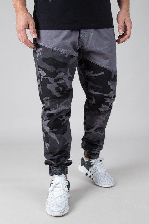 SSG CHINO JOGGER SLIM DOUBLE CAMO GREY