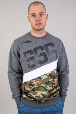 SSG CREWNECK BOTTOM MORO GREY