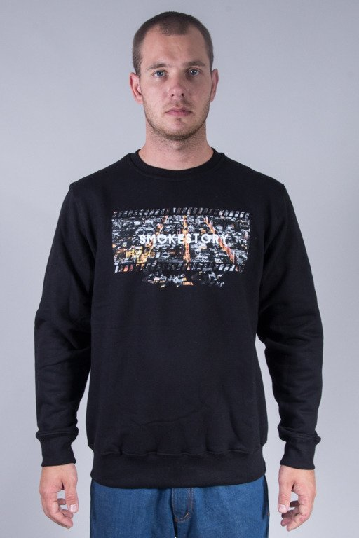 SSG CREWNECK CRIME SMOKE BLACK