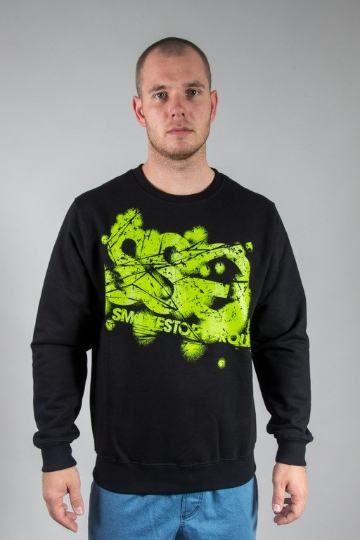SSG CREWNECK DAMAGE SSG BLACK
