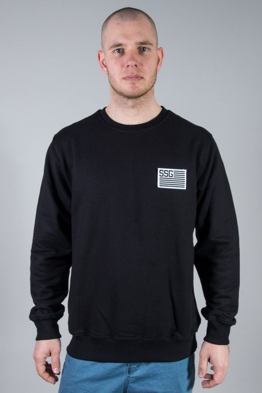 SSG CREWNECK FLAG BLACK