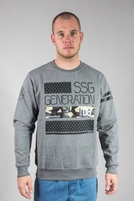 SSG CREWNECK GENERATION SSG GREY